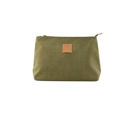 Housedoctor Toilettas Dark militairy green, artificial green 32x12x24cm