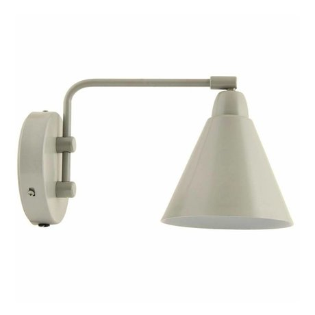Housedoctor Children's Wall Lamp Game metallic gray / white 20cm