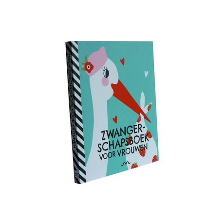 Uitgeverij Snor Book pregnancy for women multicolour paper 1,3x18x15,1cm