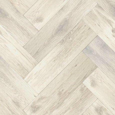 KEK Amsterdam Wallpaper Herringbone floor light brown non-woven paper 97,4x280cm