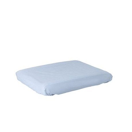 Ferm Living kids Changing pad cover Hush light blue cotton
