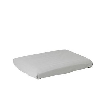 Ferm Living kids Changing pad cover Hush gray cotton
