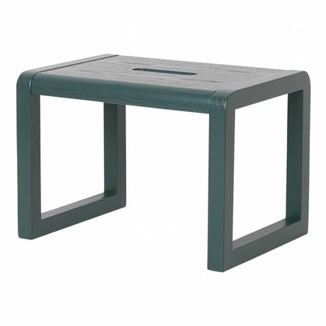 Ferm Living kids Stoel Little Architect donkerblauw hout 33x23x23cm