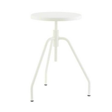 Housedoctor Children Stool SCARPA white metal 32x50cm