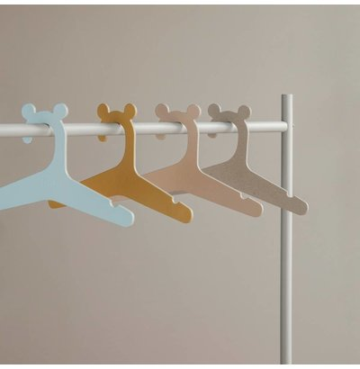 Clothes racks and clothes hangers