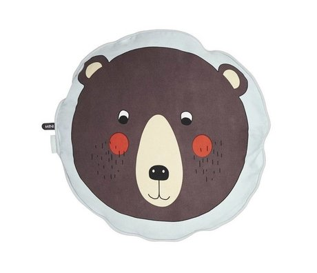 OYOY Kids Cushion Bear brown cotton 40cm