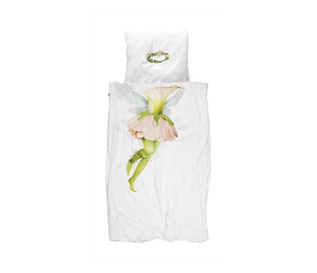 Snurk Beddengoed Quilt cover Fairy 140x200 / 220 incl cushion cover 60x70cm