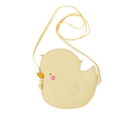 A Little Lovely Company Children's bag Little Duck yellow acrylic 15x15x0.3cm