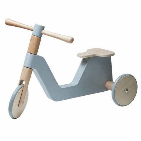 Sebra baby scooter gray wood