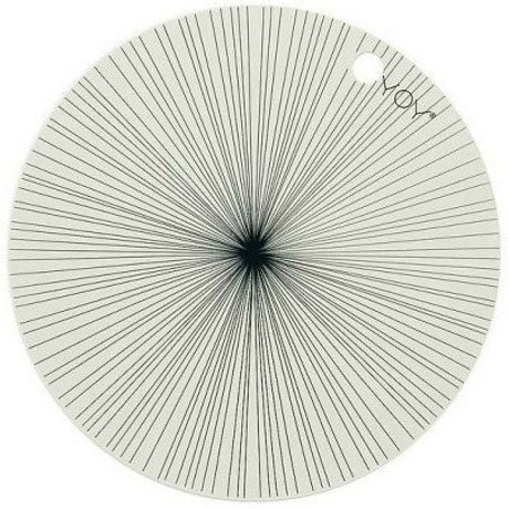 OYOY Kids Placemats off-white sillecone set of two 39x0,15cm