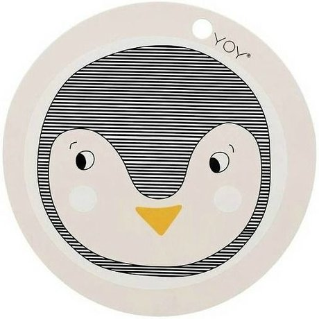 OYOY Kids Placemats penguin pink silicone 39x0,15cm