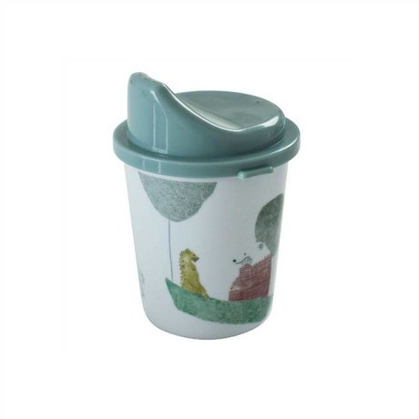 Sebra Spout cup In the sky boy blue melamine ø7x11cm