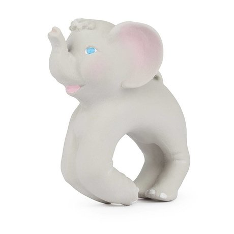 Oli & Carol Bath toy and accessory bracelet elephant natural rubber 8x10cm