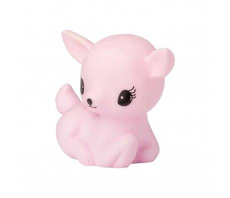 A Little Lovely Company Children's light pink deer 12x8,5x15,5cm