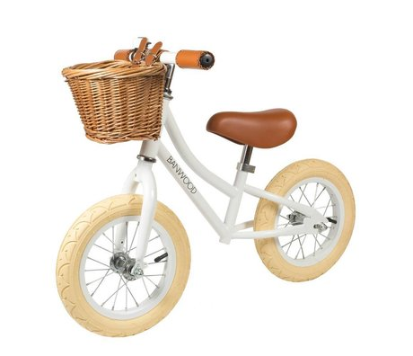 Banwood Balance bike First Go white 65x20x41cm