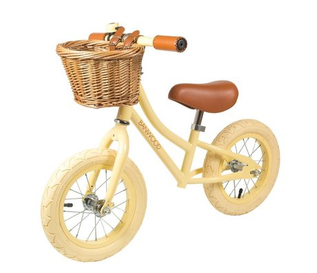 Banwood Balance bike First Go vanilla yellow 65x20x41cm