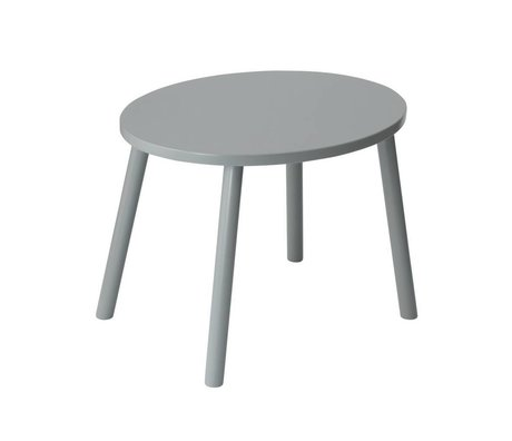 NOFRED Children's table Mouse gray wood 46x60x43,5cm