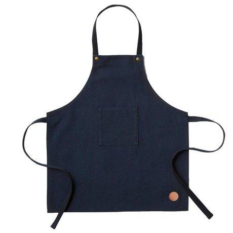 Ferm Living kids Kinder keukenschort Apron blauw textiel 45x50cm