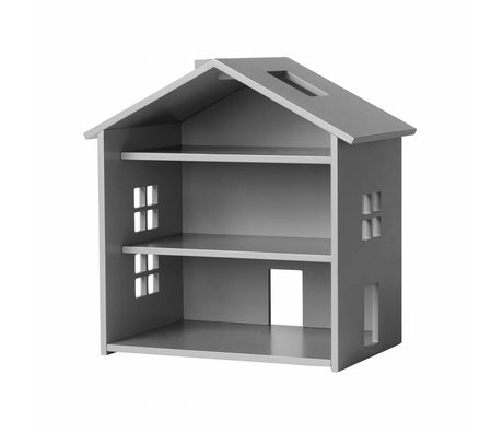 NOFRED Dollhouse Harbor gray MDF 34x23,5x39,3cm