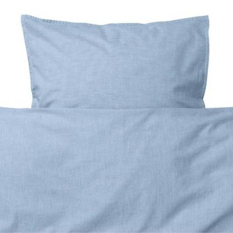 Ferm Living kids Children's bed linen Hush light blue cotton 70x100cm-46x40cm