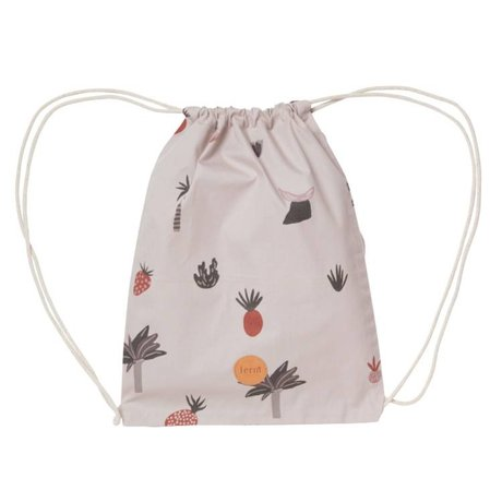 Ferm Living kids Gym bag Fruiticana cotton 28x36cm