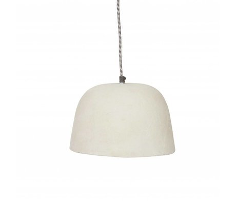 BePureHome Hanging lamp Dawn white resin paper ∅26x18cm