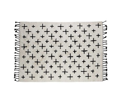 BePureHome Rug More off white cotton 170x240cm