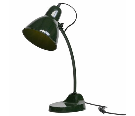 BePureHome Table lamp Masterpiece green metal 43x16x37cm
