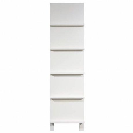 vtwonen Pronkrek wit hout 215x56x10cm