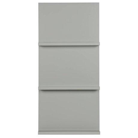 vtwonen Pronkrek hangen grijs hout 120x56x10cm