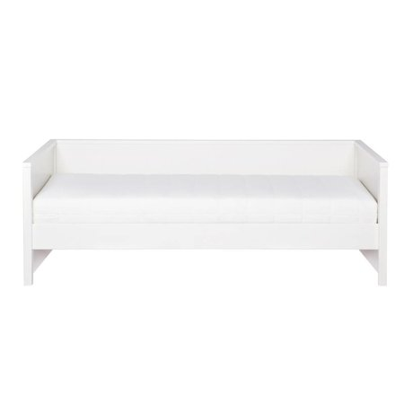 LEF collections Bed bench Nikki white pine 208x100x73cm
