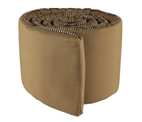 OYOY Bedbumper Haikan rubber bruin 350x30x3cm