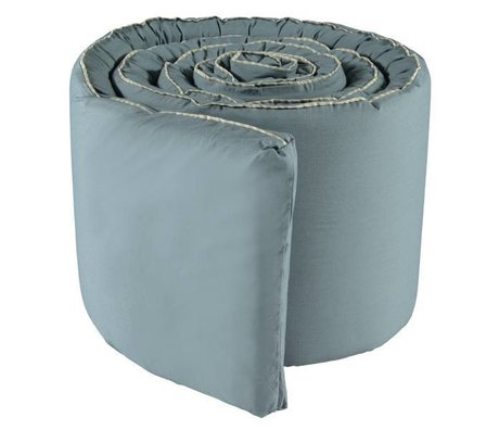 OYOY Bed bumper Haikan blue gray 350x30x3cm