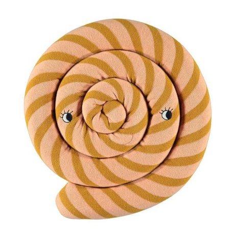 OYOY Kussen Lollipop caramel bruin 30cm