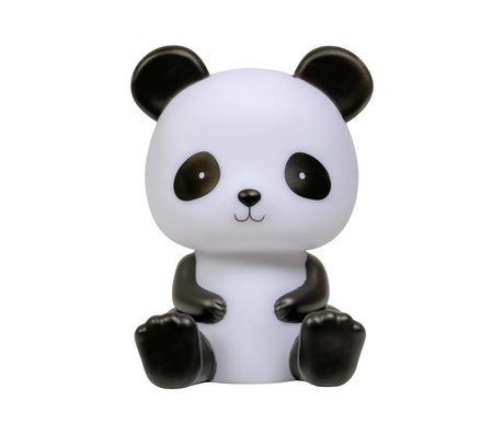 A Little Lovely Company Table lamp Panda black and white 12x13x19cm
