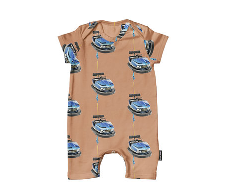 Snurk Beddengoed Romper Bumper cars cotton size 62