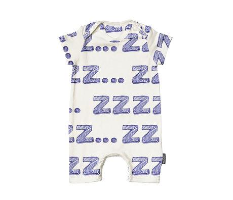 Snurk Beddengoed Romper Zzz.. katoen maat 62