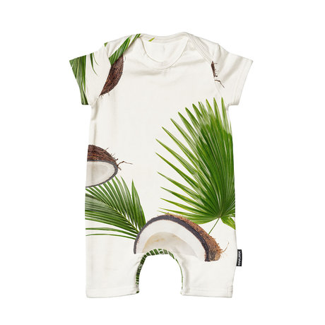 Snurk Beddengoed Bodysuit Coconuts cotton size 62
