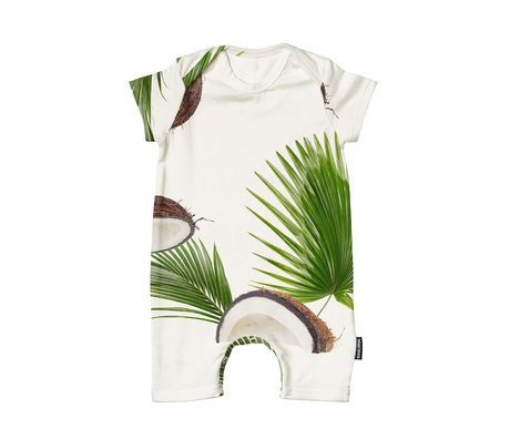 Snurk Beddengoed Bodysuit Coconuts cotton size 68