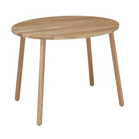 NOFRED Kindertafel Mouse gelakt eiken hout 71,6x52,5x58cm
