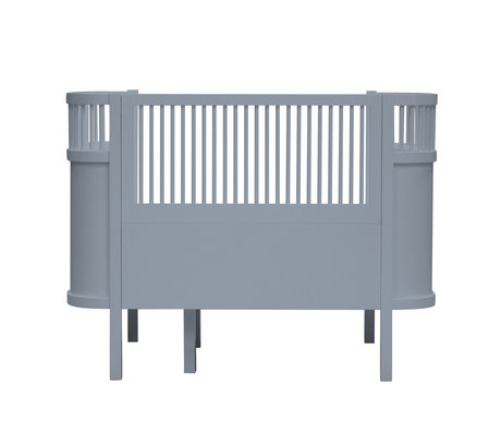 Sebra Bed baby & junior Forest lake blauw hout 115,2-152,3x70x88cm
