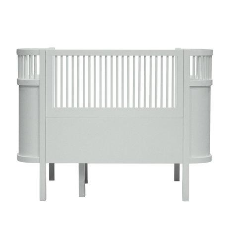Sebra Bed baby & junior Mist groen hout 115,2-152,3x70x88cm