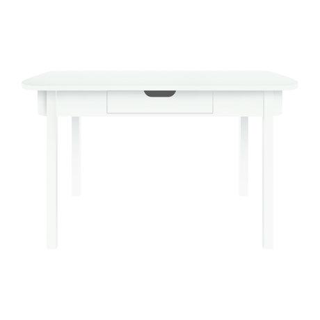 Sebra Bureau Desk wit hout 100x60x73,5cm