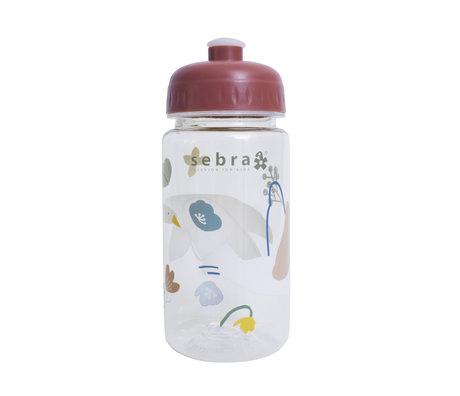 Sebra Drinkfles Singing birds plastic 7x17cm