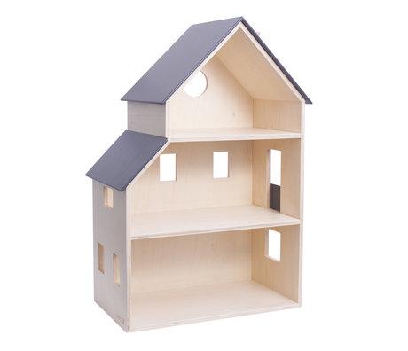 Sebra Dollhouse doll's house wood 39x22x60.1cm
