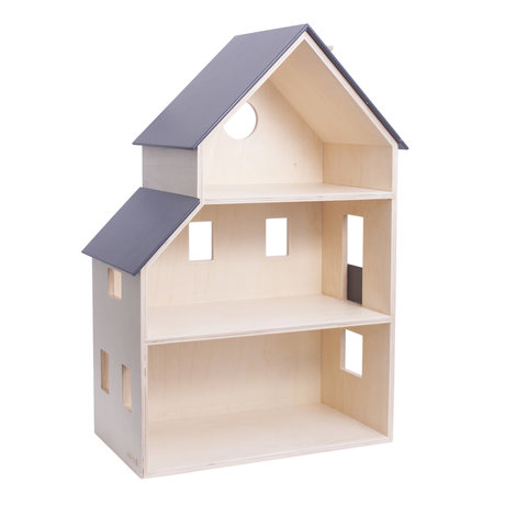 Sebra Poppenhuis doll's house hout 39x22x60,1cm