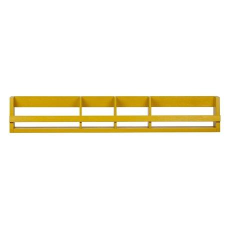 LEF collections Wandrek Sammie mosterd geel grenen 150x15x25cm