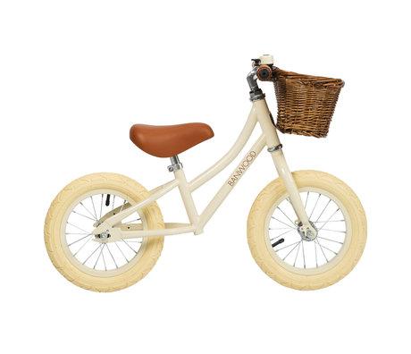 Banwood Children's walking bike first go cream white 65x20x41cm