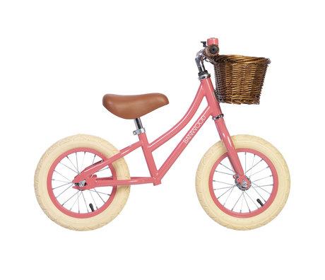 Banwood Children's walking bike first go Coral pink 65x20x41cm