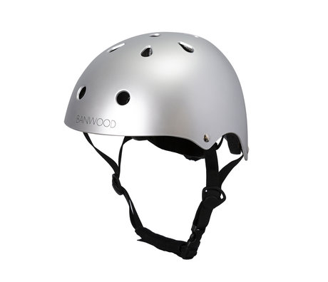 Banwood Bicycle helmet child chrome 24x21x17.5 cm